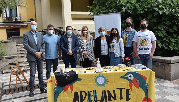 Junta, Diputación de Cuenca y Subdelegación del Gobierno resaltan la labor de la Asociación Adelante en la región para visibilizar a los enfermos de ELA