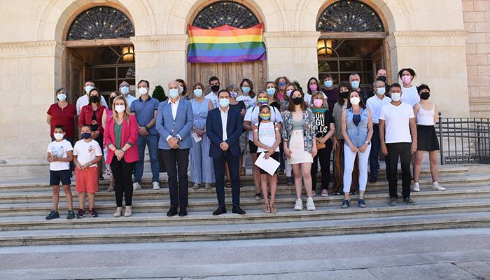 La Diputación de Cuenca acoge el acto institucional de la provincia con motivo del Día del Orgullo LGTBI