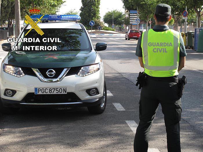 La Guardia Civil de Cuenca investiga a un conductor como presunto autor de un delito de lesiones por imprudencia