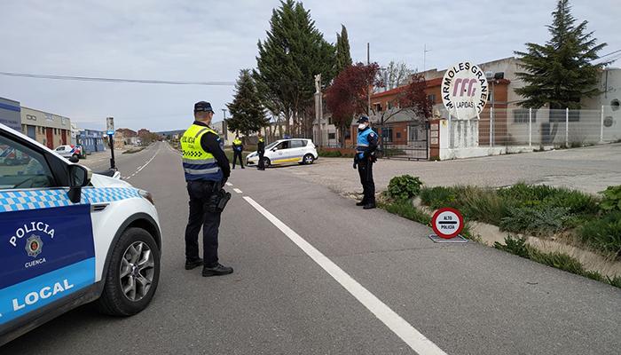 La Policía Local de Cuenca detecta siete infracciones en los controles de vigilancia de alcohol y drogas a 191 conductores en la semana del 16 al 22 de junio