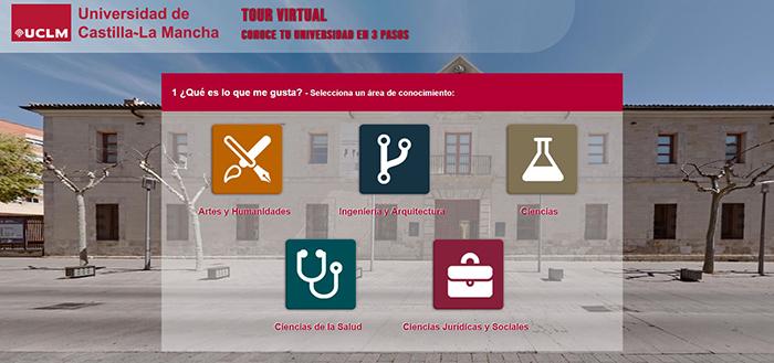 La UCLM abre una ventana virtual a sus campus y sedes universitarias para difundir su oferta académica
