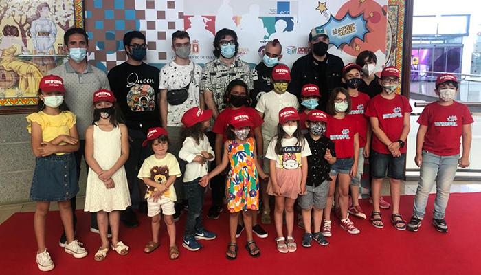 Los alumnos de la Escuela Municipal de Cine de Cuenca estrenan su web serie infantil 'En Tropel'