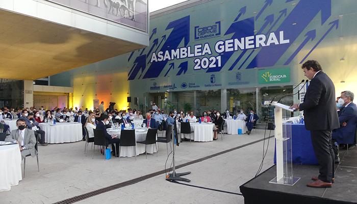 Los asociados de CEOE-Cepyme Cuenca aprueban por unanimidad las acciones de la organización en el último año
