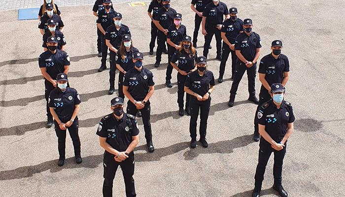 Más de cien nuevos agentes comienzan las prácticas del curso de Formación Inicial para Policía Local de Castilla-La Mancha