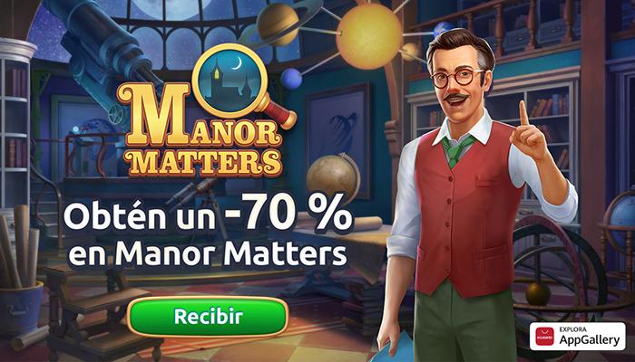 Playrix lanza Manor Matters en Huawei AppGallery tras el éxito de la colaboración anterior entre ambas empresas