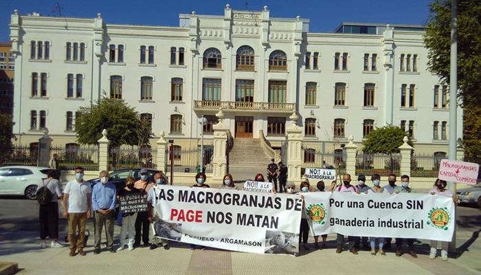 Podemos elevará a nivel estatal y europeo el conflicto por las macrogranjas en Castilla-La Mancha