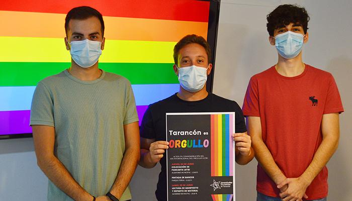 Tarancón celebra el Orgullo LGTBI de la mano de Juventudes Socialistas