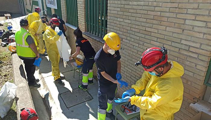 Un total de 82 estudiantes de Formación Profesional de Cuenca han realizado prácticas en emergencias a través del 1-1-2