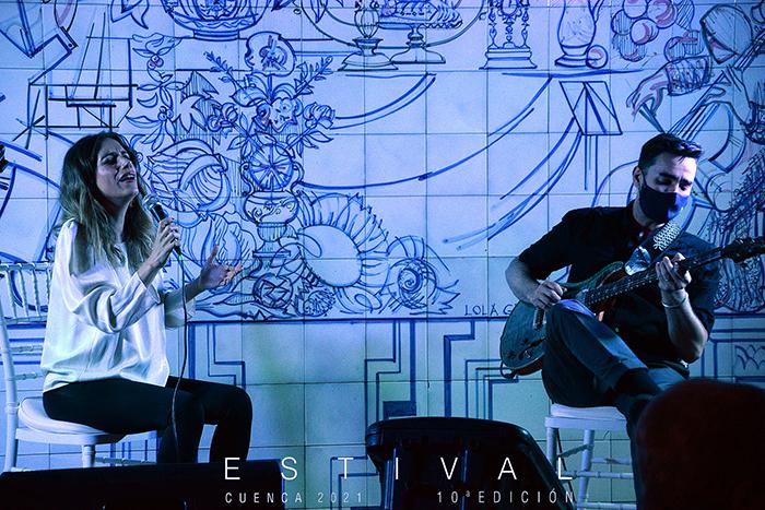 Verónica Ferreiro & Javier Sánchez suben el telón de Estival Cuenca 2021