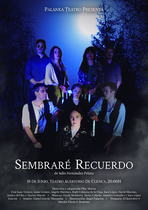 Ya a la venta las entradas de 'Sembraré recuerdo', el regreso de Palanka Teatro a las tablas del Auditorio de Cuenca