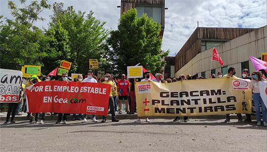 Cuenca en Marcha pedirá al Pleno apoyo a los trabajadores de Geacam