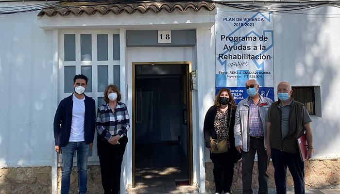 La provincia de Cuenca recibe 41 ayudas para rehabilitar elementos comunes en edificios residenciales colectivos