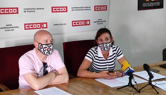 CCOO consigue un convenio colectivo para 220 profesionales de la sanidad que trabajan en las 65 clínicas privadas de la provincia de Cuenca