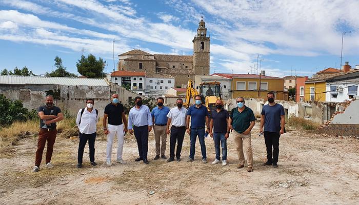 Comienzan las obras de la residencia de mayores ´Arco de la Malena´ de Tarancón con una inversión de 5 cinco millones de euros