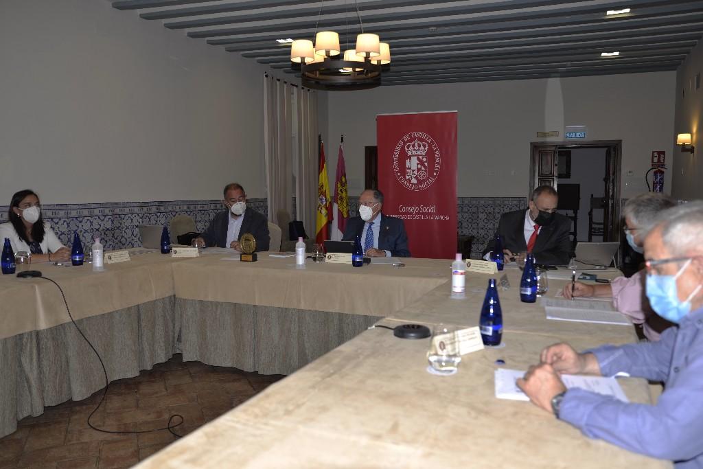 El Consejo Social aprueba las cuentas anuales de la UCLM correspondientes al ejercicio 2020