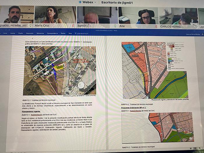 El Gobierno regional da el visto bueno a la modificación puntual nº1 del Plan de Ordenación Municipal de San Clemente