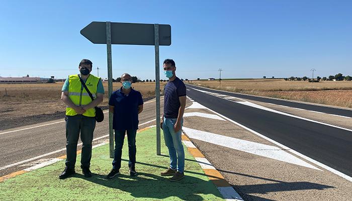 El Gobierno regional destina alrededor de 220.000 euros a la actuación de rehabilitación del pavimento de la CM-200 a su paso por Pozorrubio de Santiago