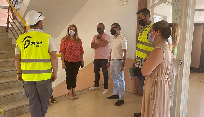 El Gobierno regional ejecuta las obras de mejora eficiencia energética en el IES Jorge Manrique de Motilla del Palancar