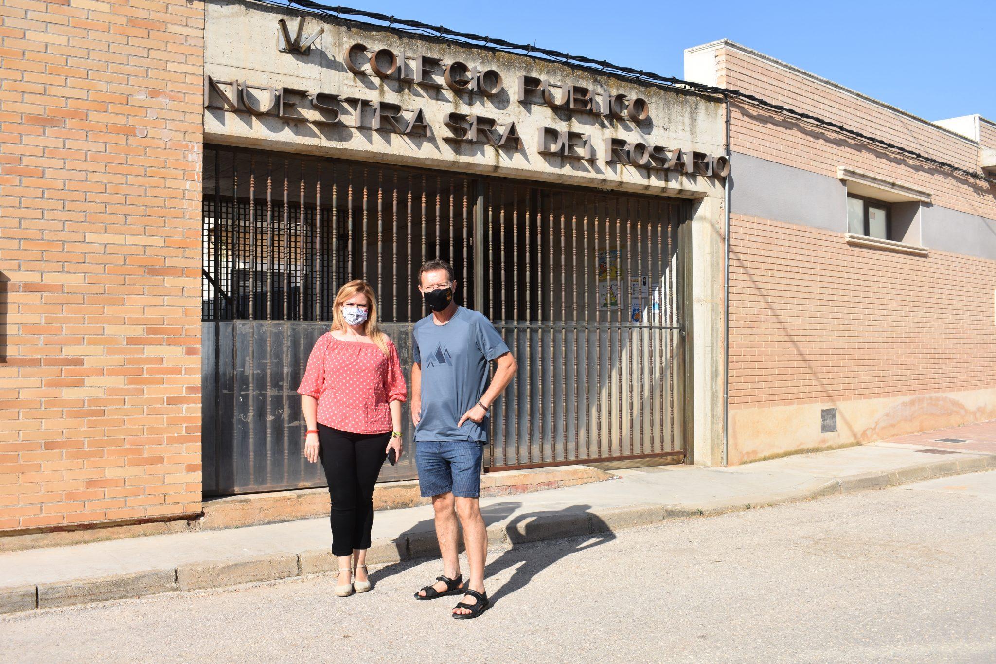 El Gobierno regional ha destinado alrededor de 100.000 euros en ayudas e inversiones en El Picazo en materia educativa, social y empresarial