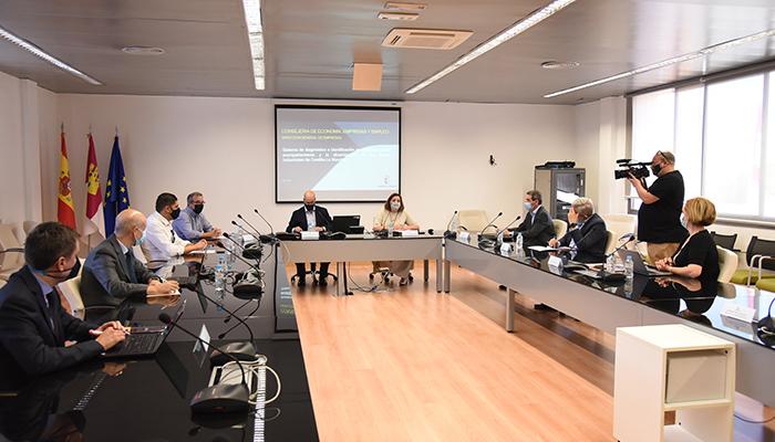 El Gobierno regional valora que la región sea la Comunidad Autónoma en la que más ha crecido el negocio en la industria desde 2015
