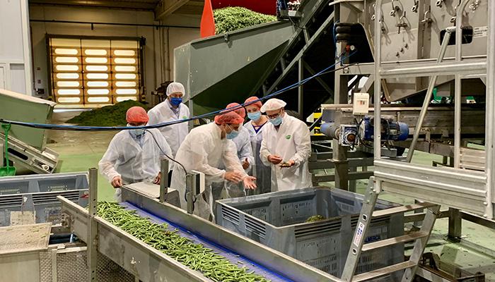 La Diputación de Cuenca colabora con el The Real Green Food para instalar modelos de producción de legumbres en la provincia