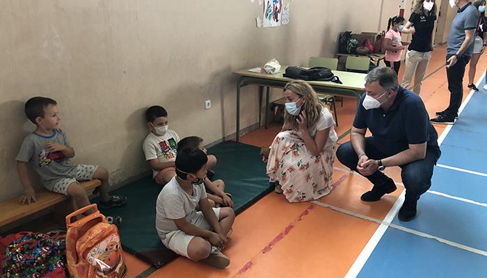 La Escuela Municipal de Verano de Cuenca refresca el verano a unos 180 menores, facilitando la conciliación familiar durante el periodo vacacional