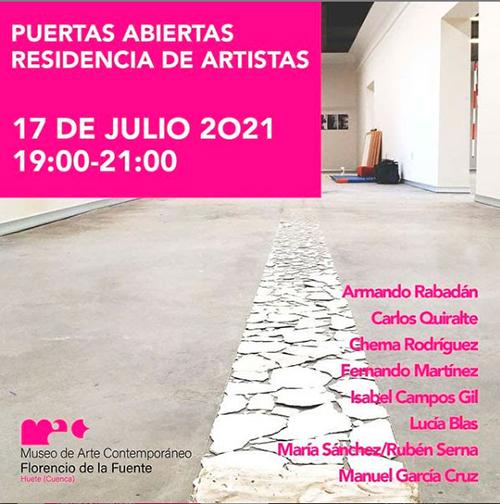 La Residencia de Artistas del MAC Florencio de la Fuente de Huete abre al público sus proyectos