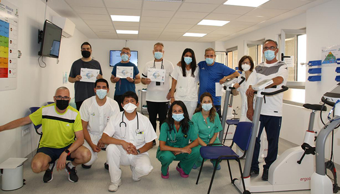 La Unidad de Rehabilitación Cardio-respiratoria de Cuenca finaliza su programa de sesiones con los dos primeros grupos de pacientes