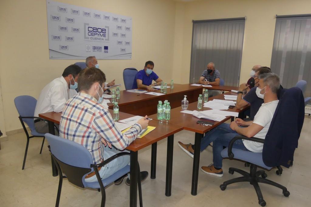 Acuerdo para la firma del nuevo Convenio Colectivo de la Madera de Cuenca
