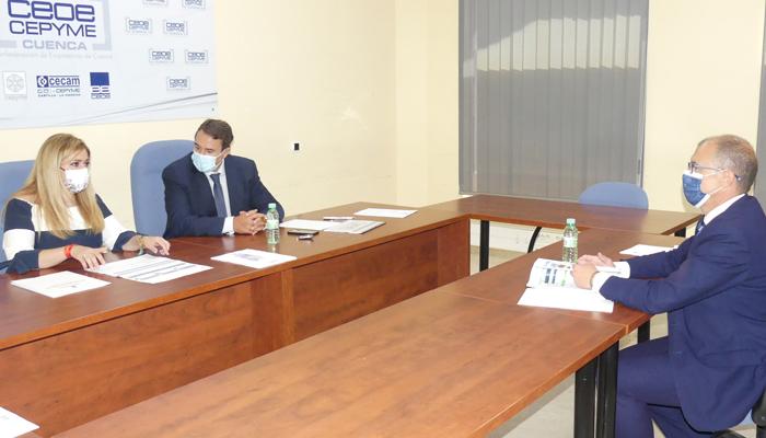 CEOE-Cepyme Cuenca pide a la delegada de la Junta apoyo del Gobierno regional para su Plan de Movilidad