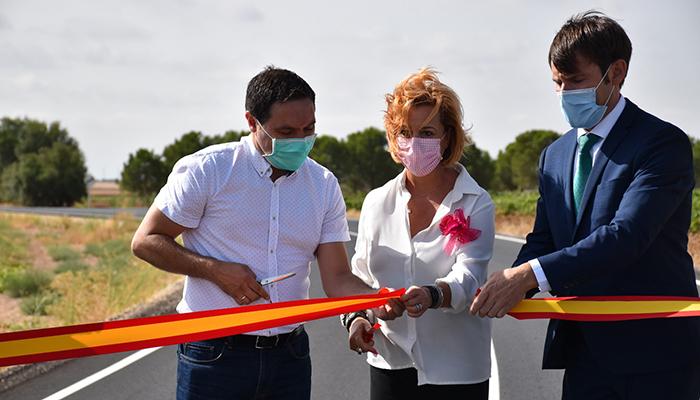 La Diputación de Cuenca mejora la seguridad en la carretera que une San Clemente y Casas de los Pinos con una inversión de  1,5 millones de euros