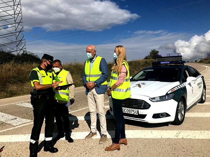 ¡Atención! Durante una semana habrá más controles de tráfico en Cuenca por parte de la Guardia Civil y Policía Local