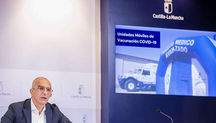 Castilla-La Mancha facilitará la vacunación contra el COVID-19 en los campus universitarios a partir de este martes
