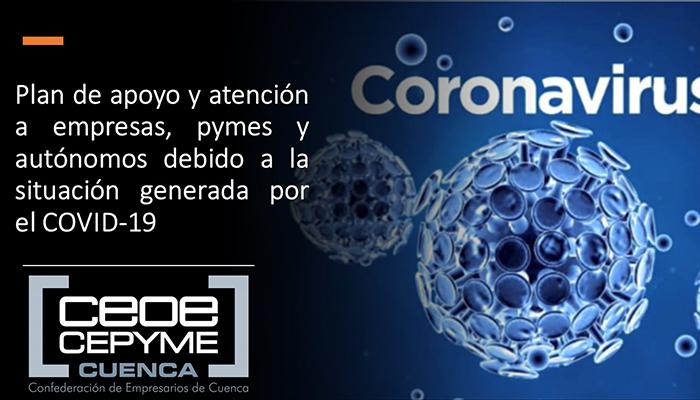 CEOE-Cepyme Cuenca destaca la importancia de que las ayudas lleguen con la mayor celeridad posible