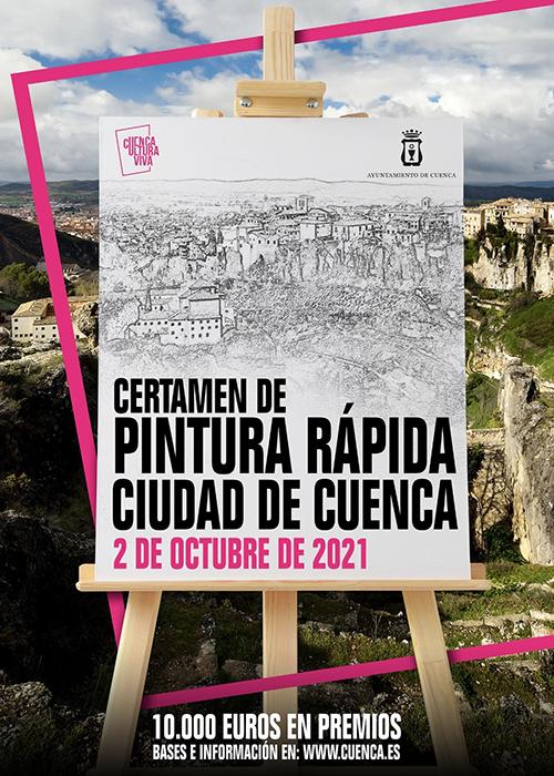 El Ayuntamiento celebra el próximo sábado el Certamen de Pintura Rápida Ciudad de Cuenca con 10.000 euros en premios