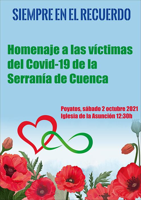 El Ayuntamiento de Poyatos y la entidad Ribera del Escabas rinde homenaje a los familiares de las víctimas del Covid 19 en la Serranía de Cuenca