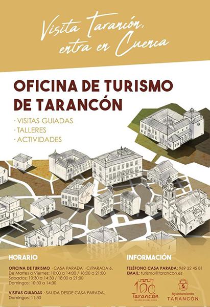 El Ayuntamiento de Tarancón abre una oficina de turismo que estará ubicada en Casa Parada
