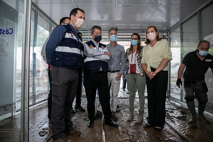 El CEIP 'Gloria Fuertes' y el IESO 'Luisa Sigea' de Tarancón, afectados por la tormenta