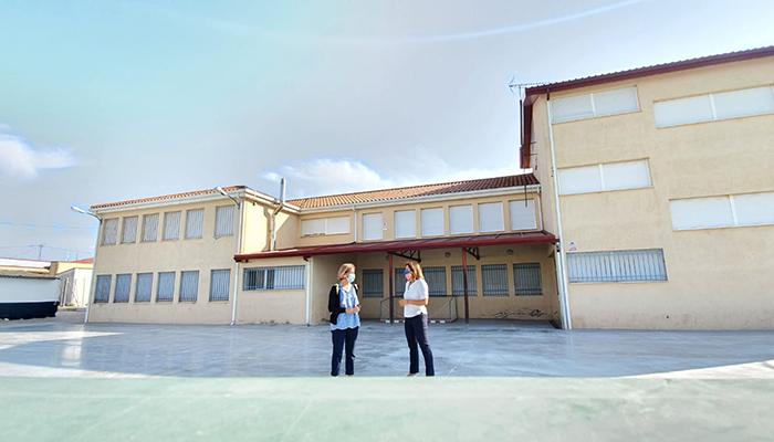 El Gobierno regional mejora la eficiencia energética del colegio público de Campillo de Altobuey