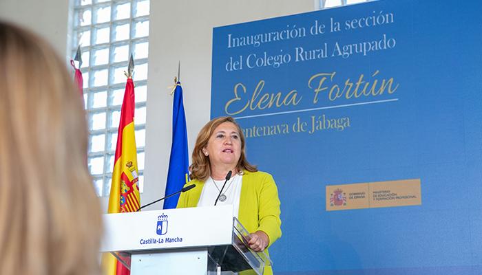 El Gobierno regional reitera su compromiso en cuidar la escuela rural como se cuida cualquiera de los grandes centros educativos de Castilla-La Mancha