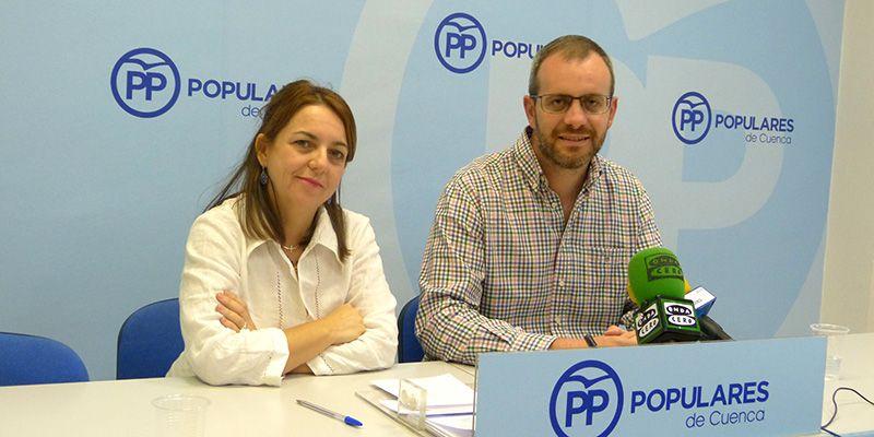 Portavoces PP Diputación de Cuenca.