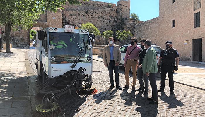 El Programa Intensivo de Limpieza llega a las pedanías de Cuenca