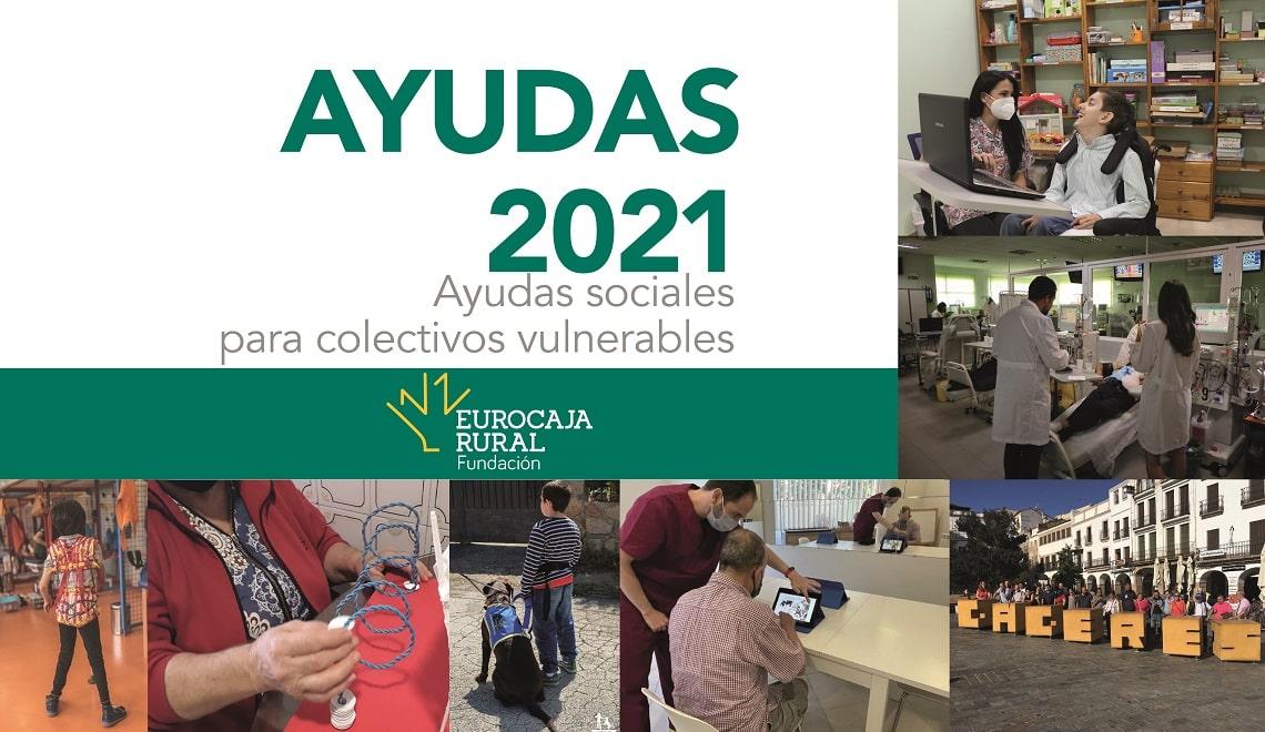 Fundación Eurocaja Rural elige los siete proyectos de carácter social que recibirán una ayuda de 2.000 euros
