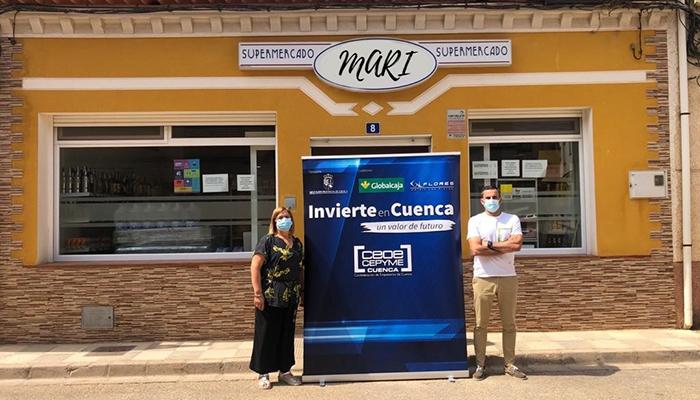 Invierte en Cuenca respalda la apertura de Supermercado Mari en El Herrumblar