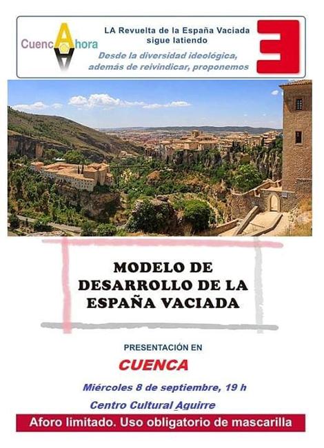 La asociación Cuenca Ahora presenta el Modelo de Desarrollo de la España Vaciada en la capital conquense