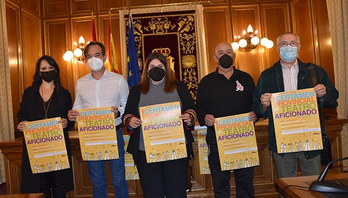 La Diputación presenta el primer Certamen Provincial de Teatro Aficionado que se celebrará este fin de semana en el Teatro Auditorio de Cuenca