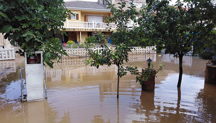 Las tormentas dejan 71 incidencias en Cuenca y 23 en Guadalajara