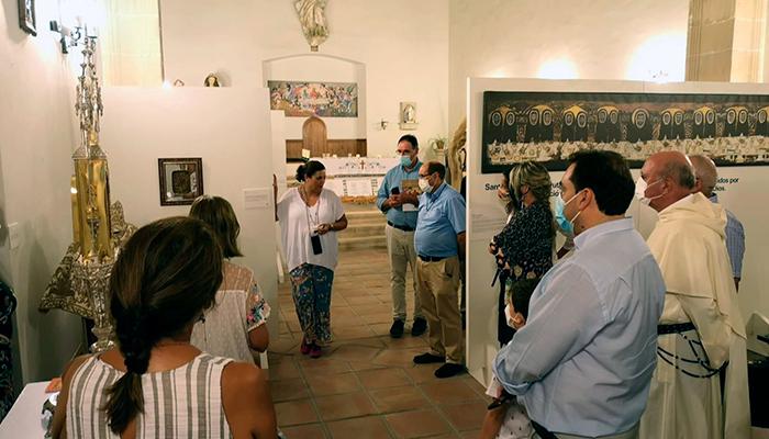 Más de 600 visitas a la exposición sobre Santo Domingo en Huete