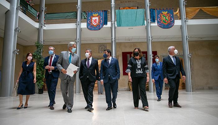 """Page anuncia que Castilla-La Mancha contará con """"90 millones adicionales"""" para la creación de empleo y la dinamización económica"""