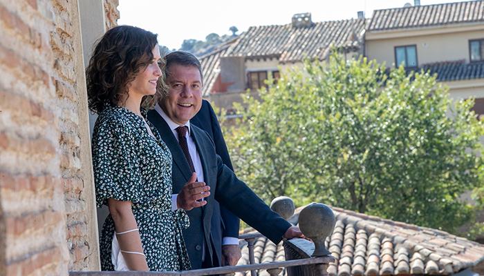 Page y Díaz Ayuso hablan de un eje turístico de Cuenca y Toledo con Aranjuez